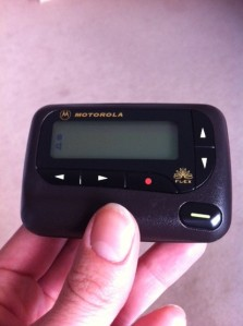 My 'beloved' pager