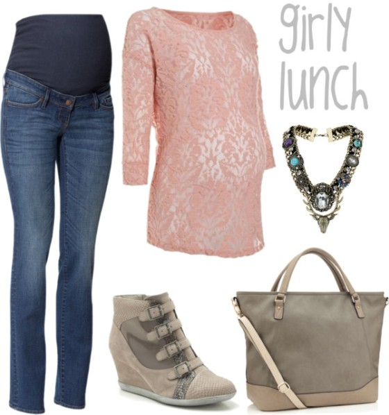 gasandairblog - maternity -girly lunch